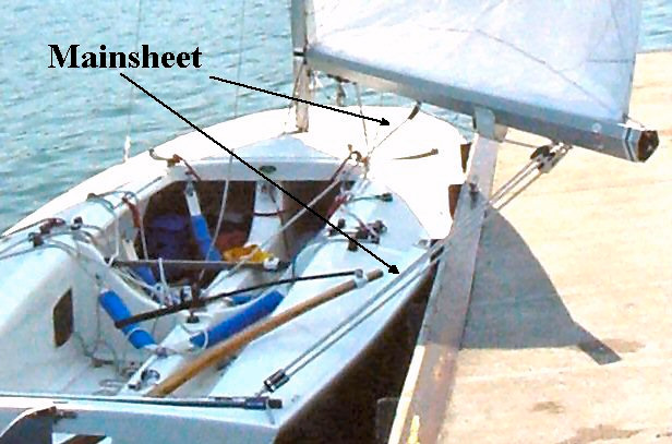 about c scow mainsail